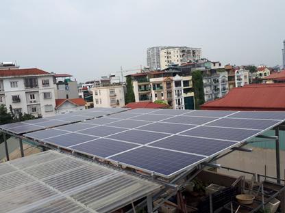 Giải pháp điện năng lượng mặt trời cho nhà xưởng